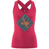 Red Chili Psycho 17 Tanktop Dames seamless rood
